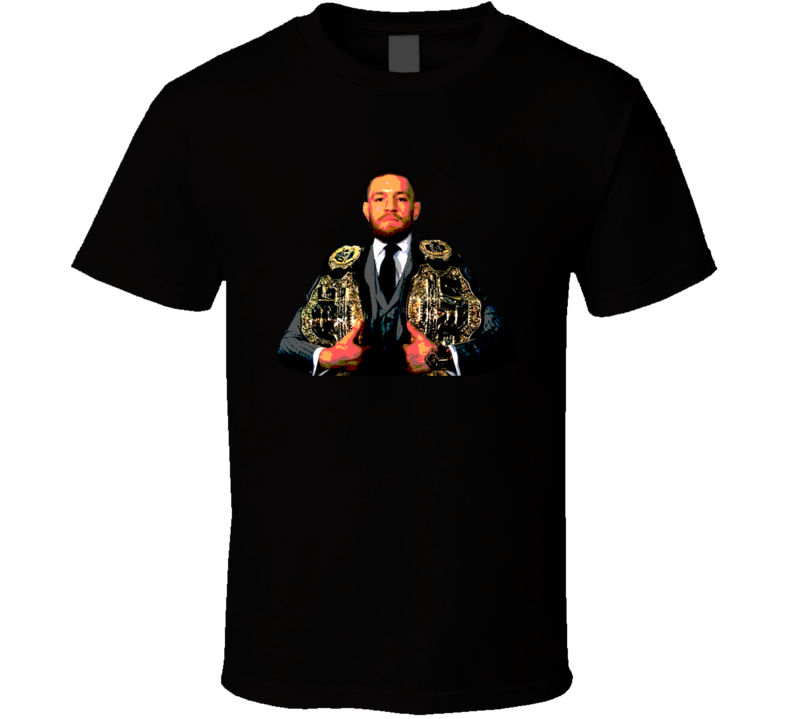 Conor McGregor Lightweight Featherweight MMA Champion Cool Fighting Sport Fan T Shirt