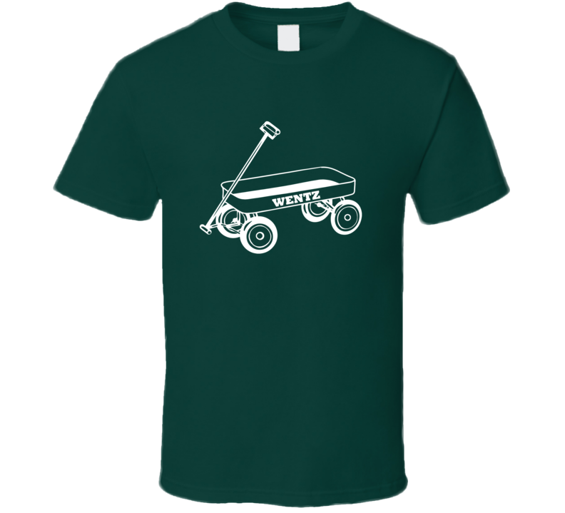 Carson Wentz Wagon Philadelphia Eagles Football Sports Fan T Shirt