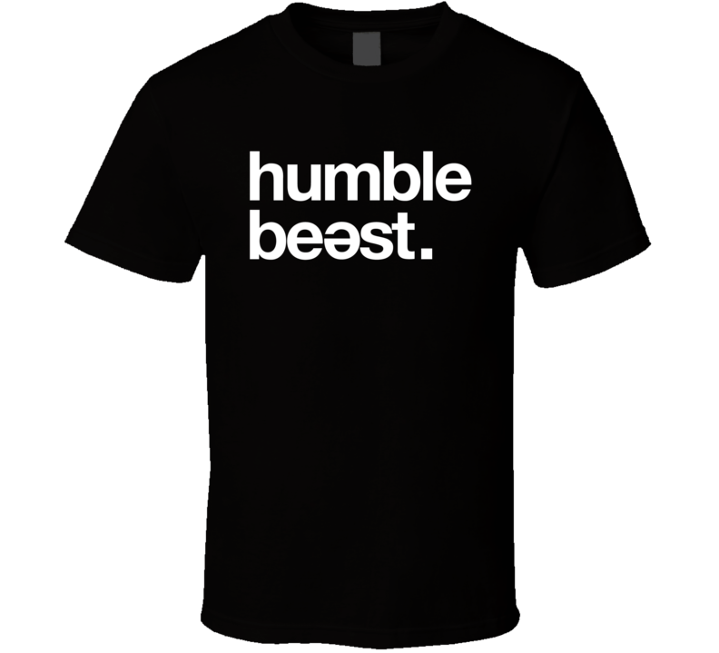 Humble Beast Records Cool Logo T Shirt