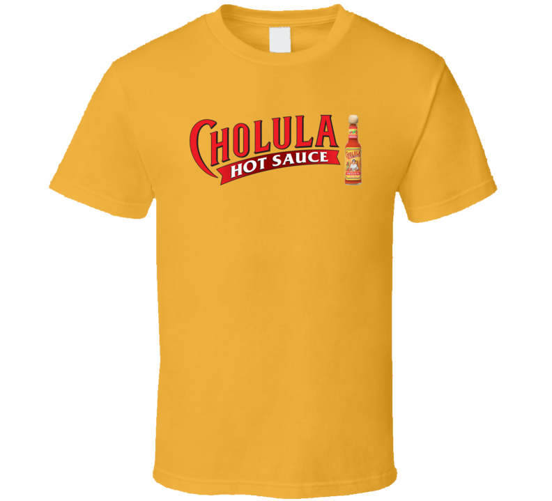 Cholula Hot Sauce Famous Brand Logo Cool T Shirt