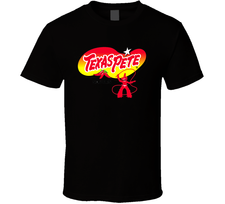 Texas Pete Hot Sauce Cool Brand Logo T Shirt