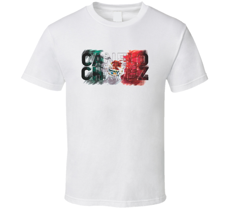 Canelo Vs Chavez Jr Boxing Fight Card Fan Poster T Shirt