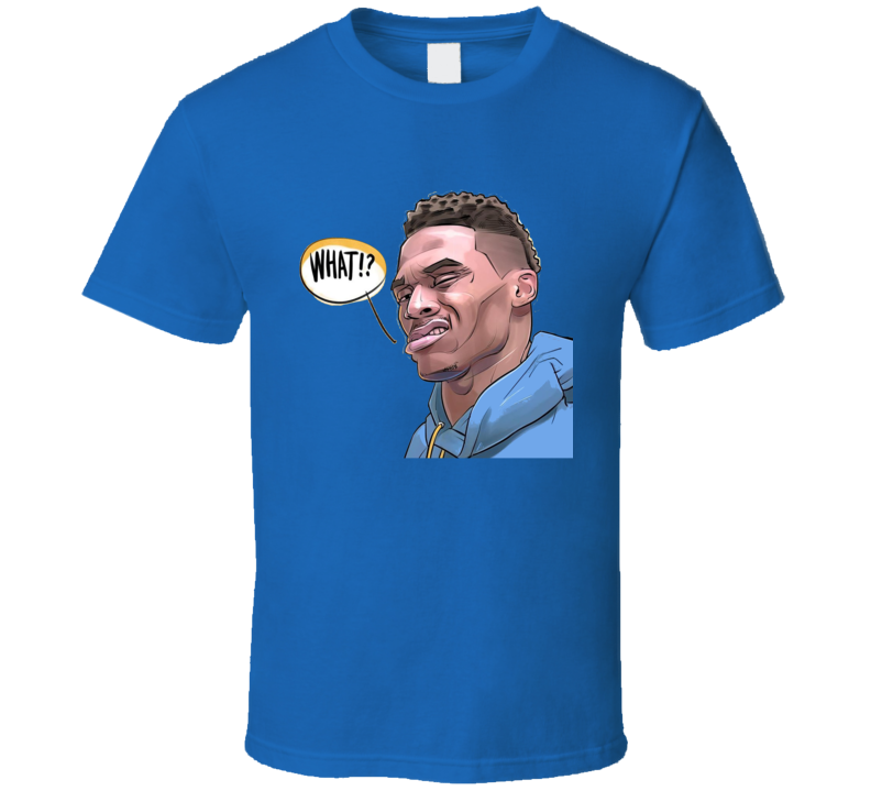 Russel Westbrook What Oklahoma City Basketball Sports Team Fan T Shirt