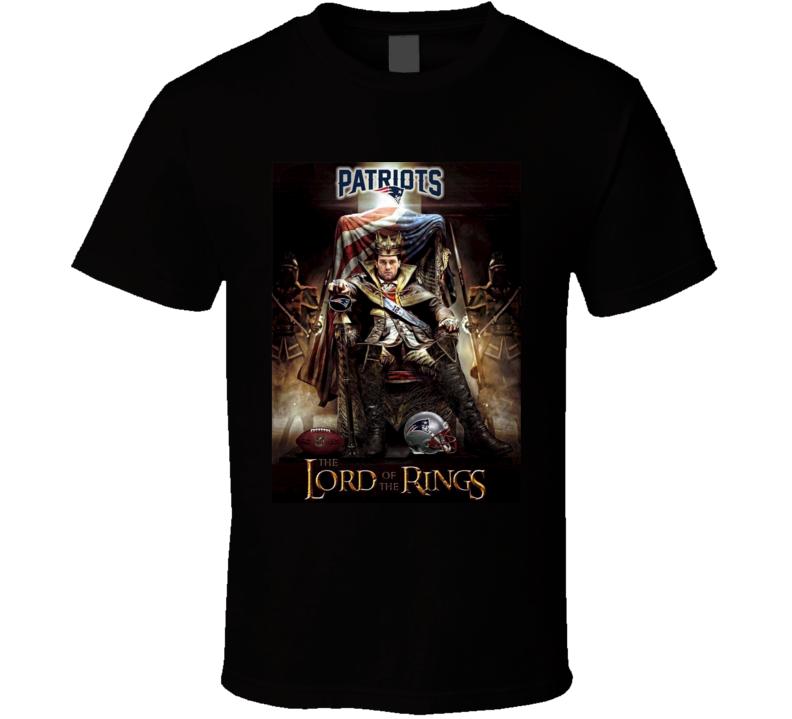 Tom Brady The Lord Of The Rings New England Football Parody Sports Team Fan T Shirt