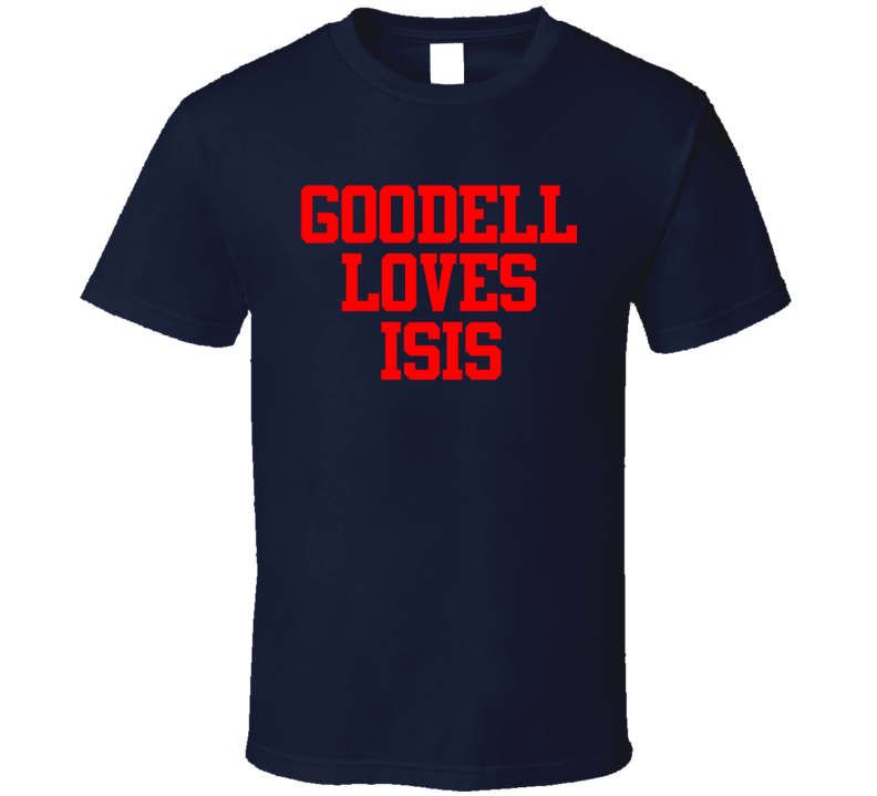 Goodell Loves Isis Funny Roger Goodell Football Commissioner Sports Fan T Shirt