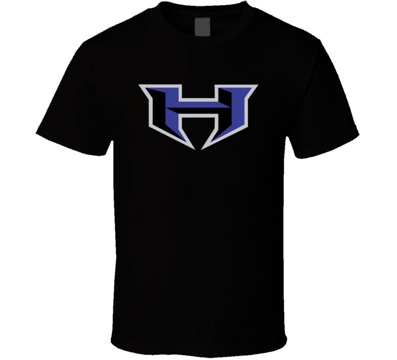 XFL New York New Jersey Hitmen Football Team Logo Sports Fan T Shirt