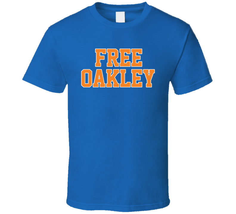 Free Charles Oakley New York Basketball Sports Team Fan T Shirt