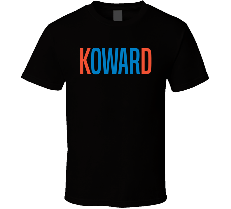 Kevin Durant KD Koward Coward Funny OKC Oklahoma City Basketball Sports Team Fan T Shirt