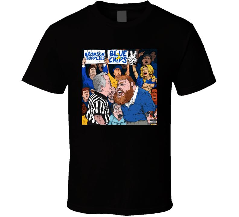 Action Bronson Supplies Blue Chips 2 Rap Hip Hop Mixtape Album Music Fan T Shirt