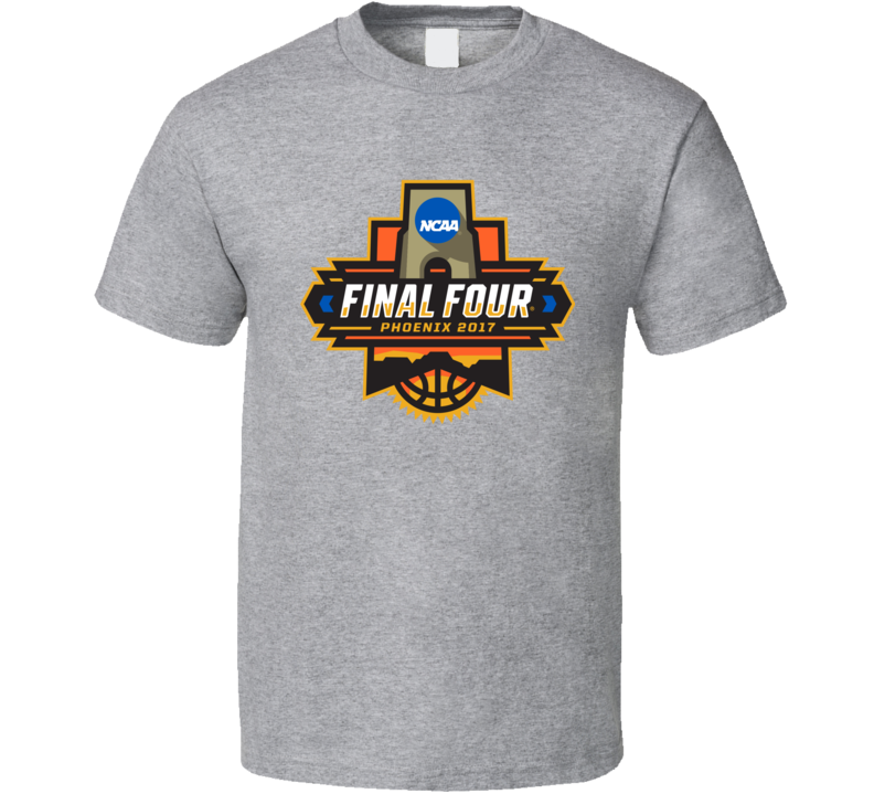 Final Four Pheonix 2017 College Basketball Tournament Cool Sports Team Fan T Shirt
