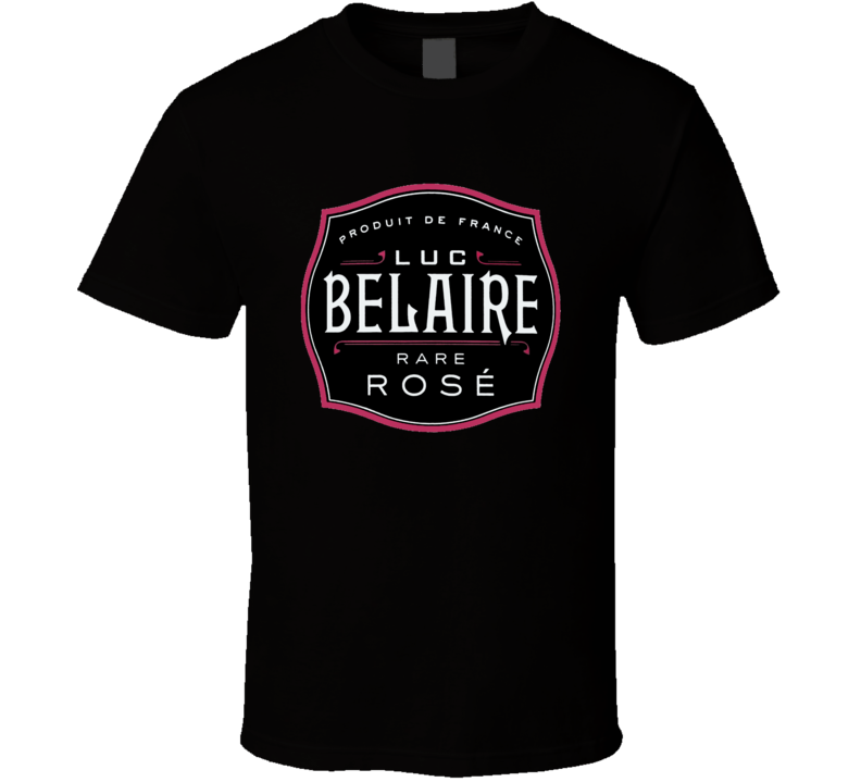 Belaire Rose DJ Khaled Popular Champagne Bottle Logo T Shirt