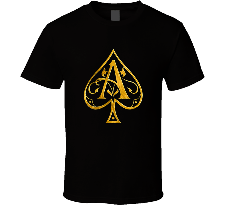 Ace Of Spades Champagne Bottle Logo T Shirt