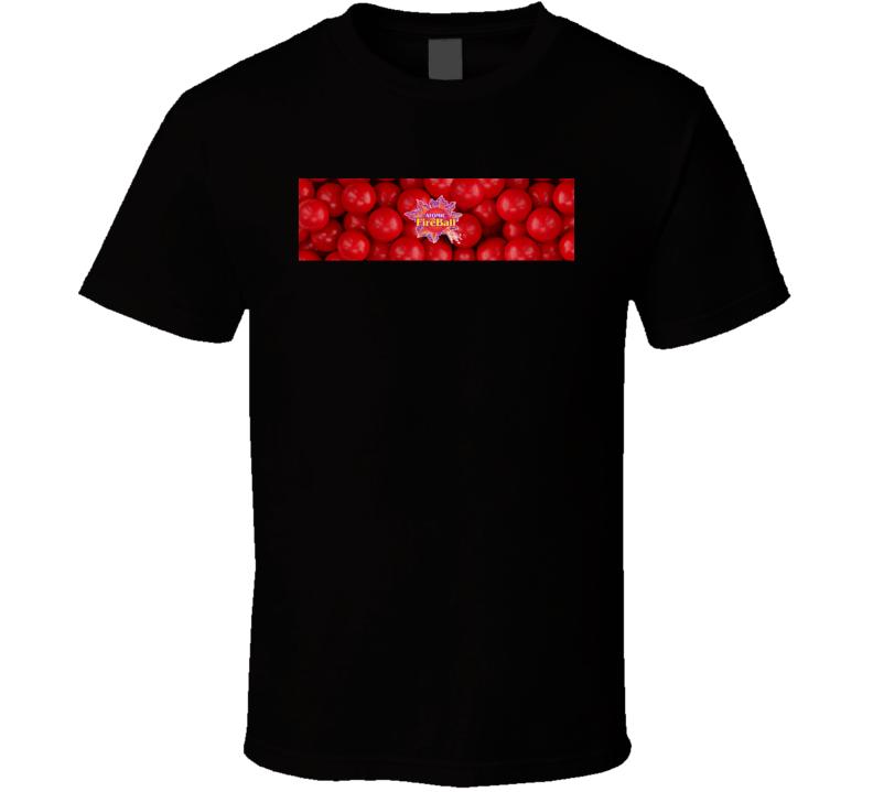 Atomic Fireball Popular Retro Candy Bar Junk Food Lover T Shirt