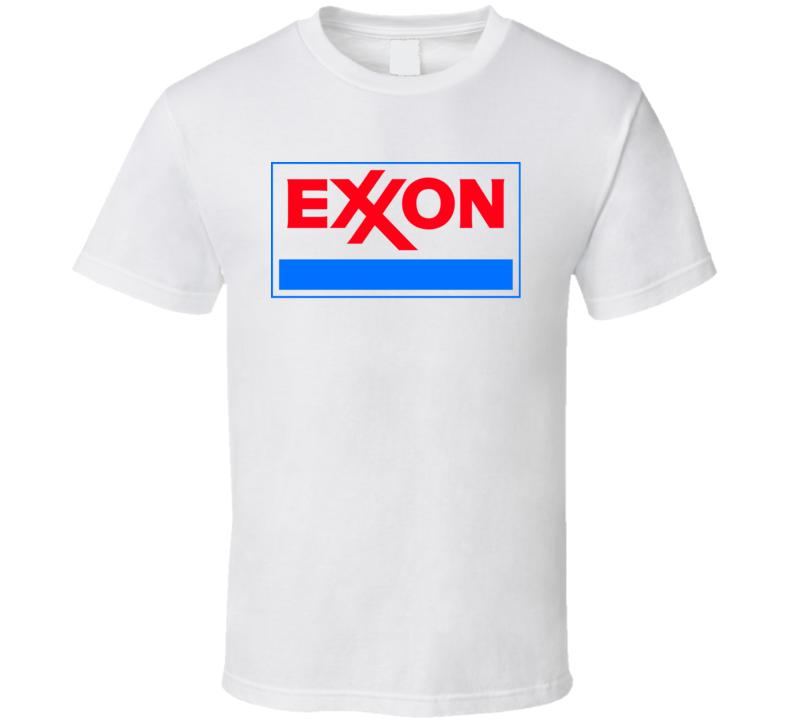 Exxon Gas Station Store Cool Brand Logo Car T Shirt