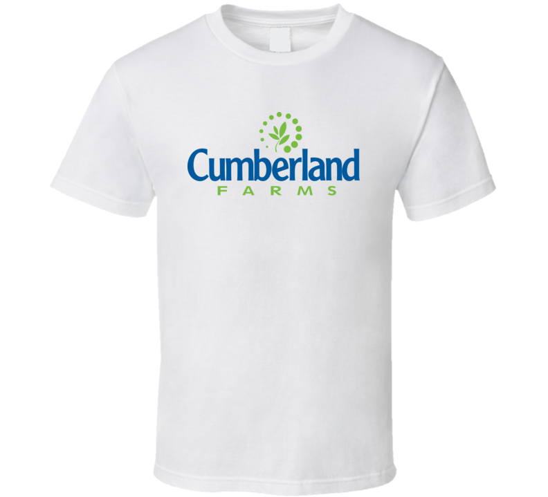 Cumberland Farms Gas Station Store Cool Brand Logo Car T Shirt