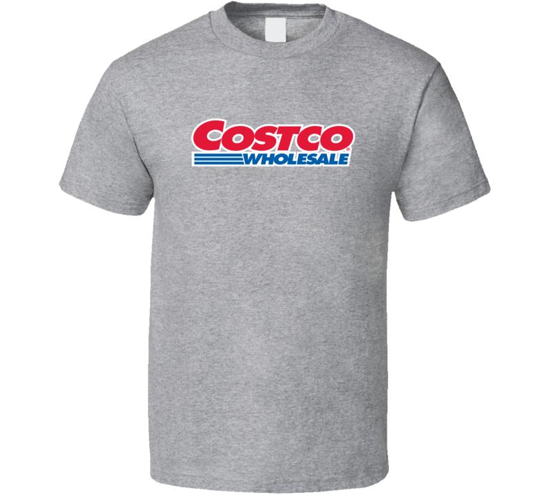 Costco Wholesale Warehouse Store Brand Logo T Shirt