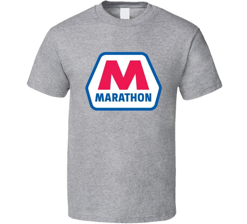 Marathon Gas Station Store Cool Brand Logo Car T Shirt