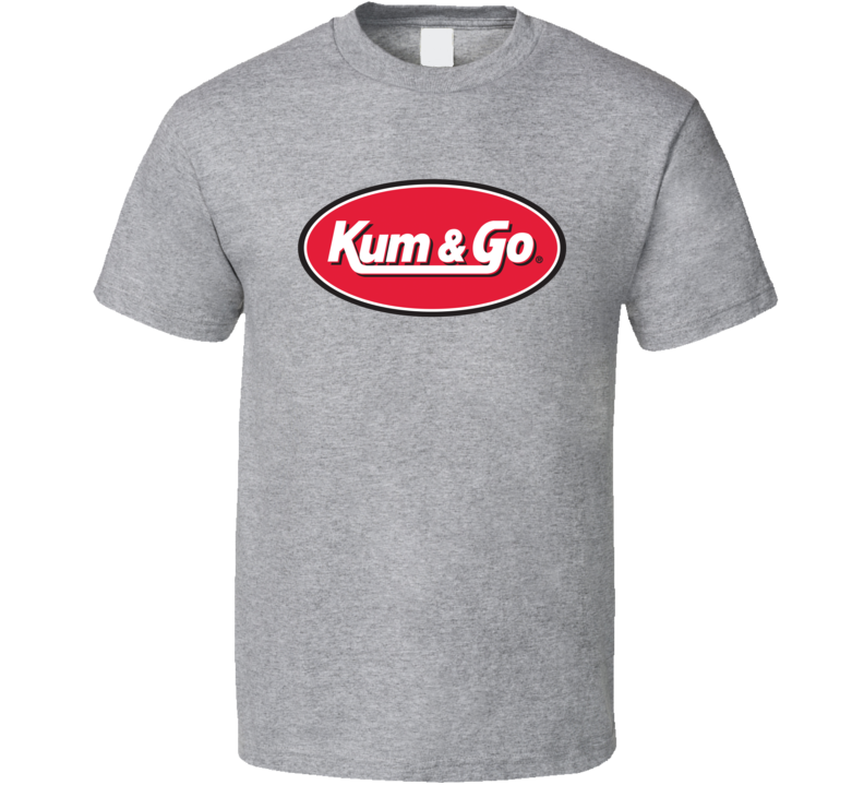 Kum And Go Gas Station Store Cool Brand Logo Car T Shirt