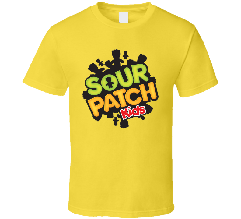 Sour Patch Kids Cool Popular Retro Candy Bar Junk Food Lover T Shirt