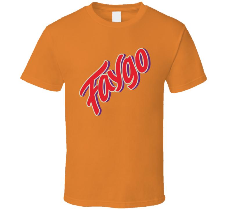 Faygo Popular Soft Drink Soda Juice Brand Logo T Shirt