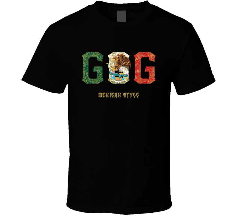 Gennady Golovkin GGG Boxing Mexican Style Cool Pro Boxer Fan T Shirt