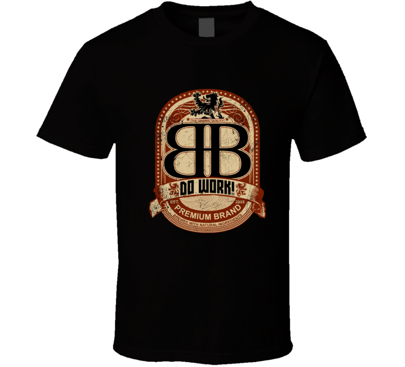 BB Big Black Rob Dyrdek Skateboarder TV Series Show T Shirt