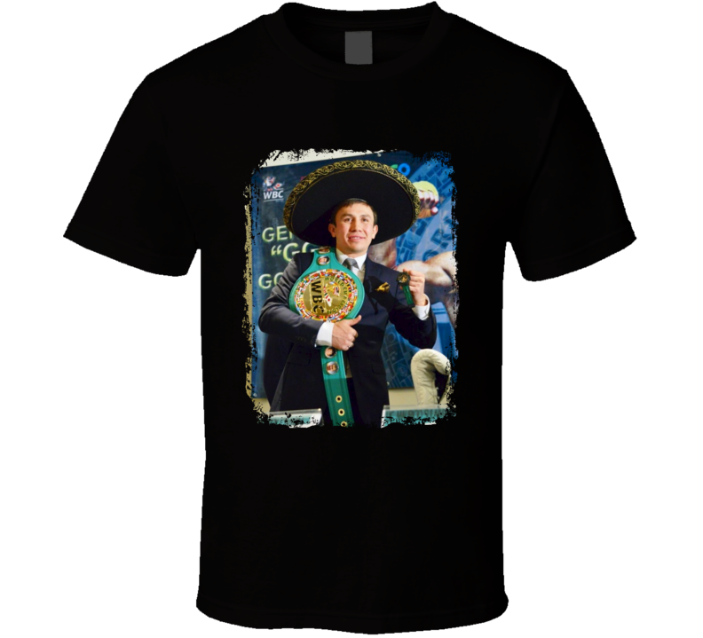 GGG Gennady Golovkin Mexican Style Boxing Boxer Fan T Shirt