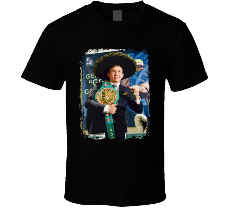 GGG Gennady Golovkin Mexican Style Boxing Boxer Fan T Shirt