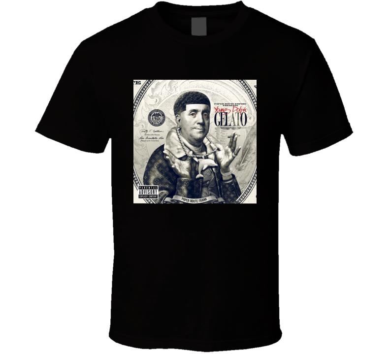 Young Dolph Gelato Mixtape Album Cover Rap Hip Hop Music Fan T Shirt