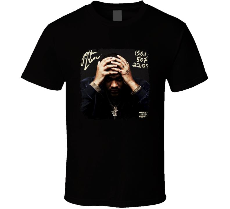 Joyner Lucas 508 507 2209 Album Cover Rap Hip Hop Music Fan T Shirt