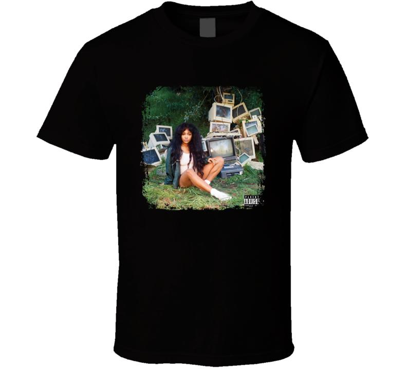 SZA Control CTRL Album Cover Music Fan T Shirt