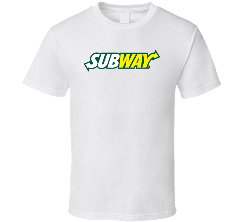 Subway Cool Fast Food Restaurant Brand Logo T Shirt