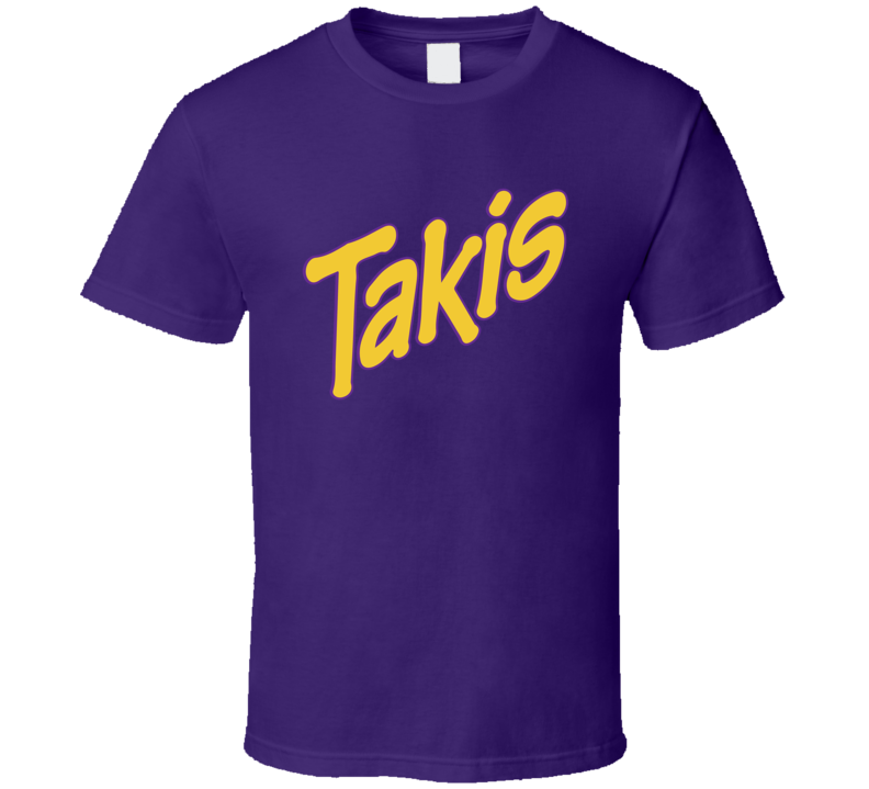 Takis Chips Cool Snack Food Brand Logo T Shirt
