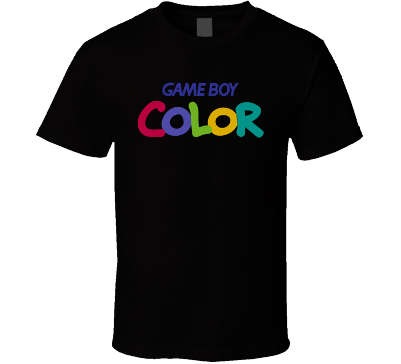 Game Boy Color Video Game System Logo Ugly God Inspired T Shirt