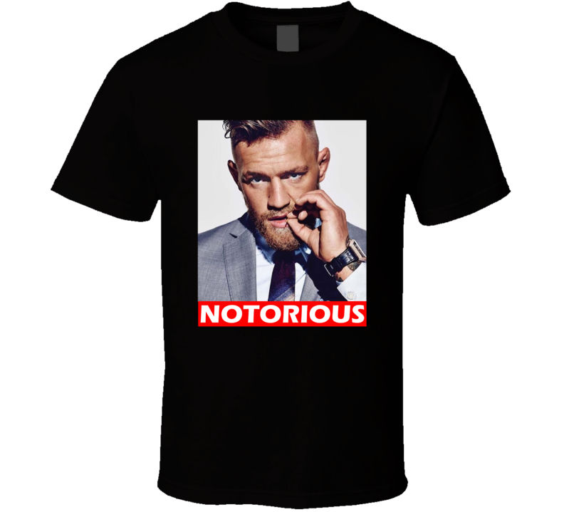 Conor Mcgregor Notorious Ufc Fighter Fighting Fan T Shirt