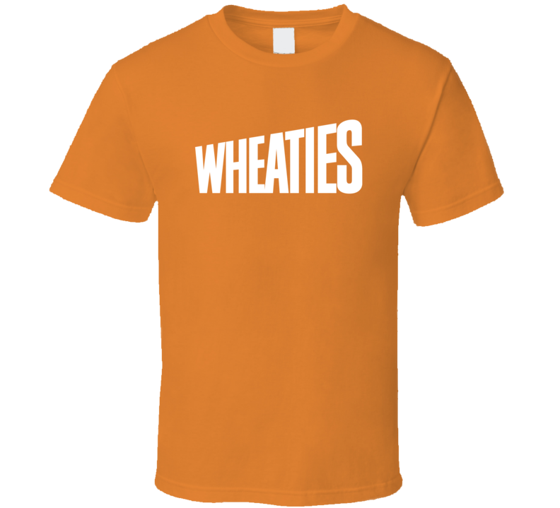 Wheaties Cereal Popular Brand Logo T Shirt