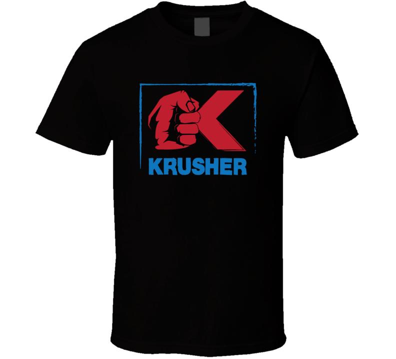 Sergey Krusher Kovalev Logo Boxer Boxing Fighter Fan T Shirt