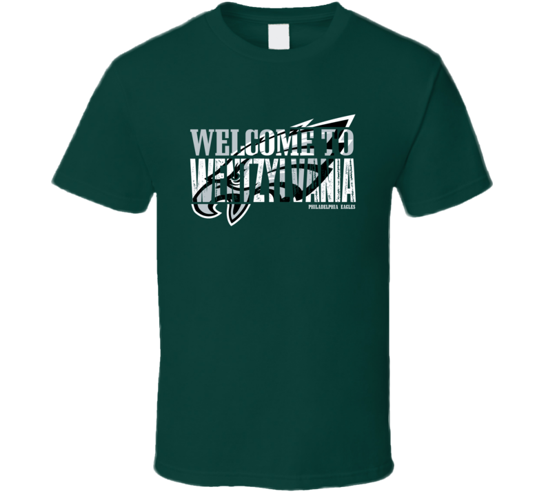 Carson Wentz Welcome To Wentzylvania Funny Philadelphia Football Team Fan T Shirt