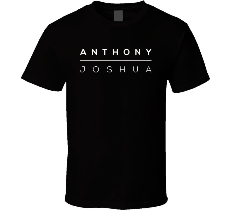 Anthony Joshua Boxer Logo Boxing Fan T Shirt
