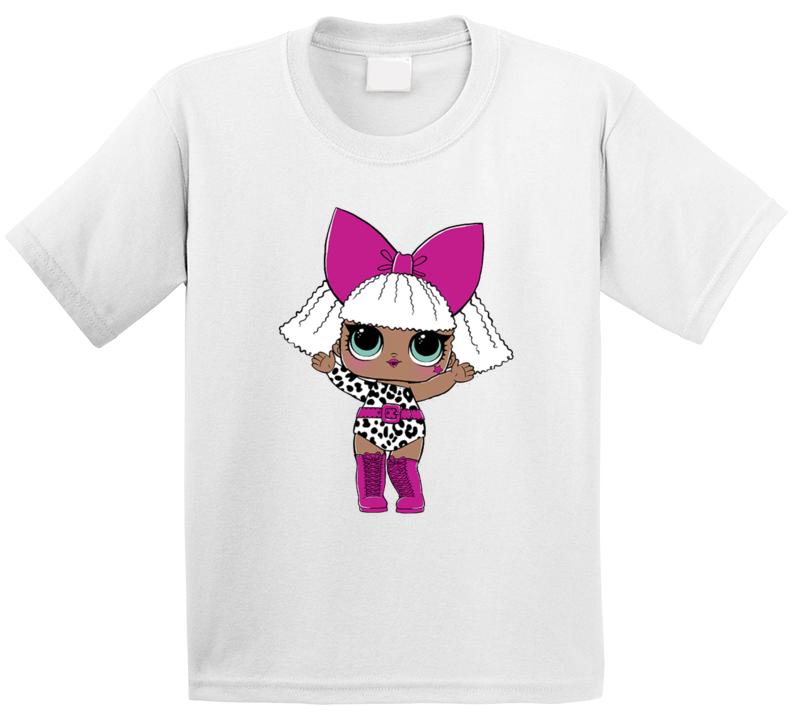 Lol Suprise Lolsuprise Doll Diva Popular Kids Toy T Shirt