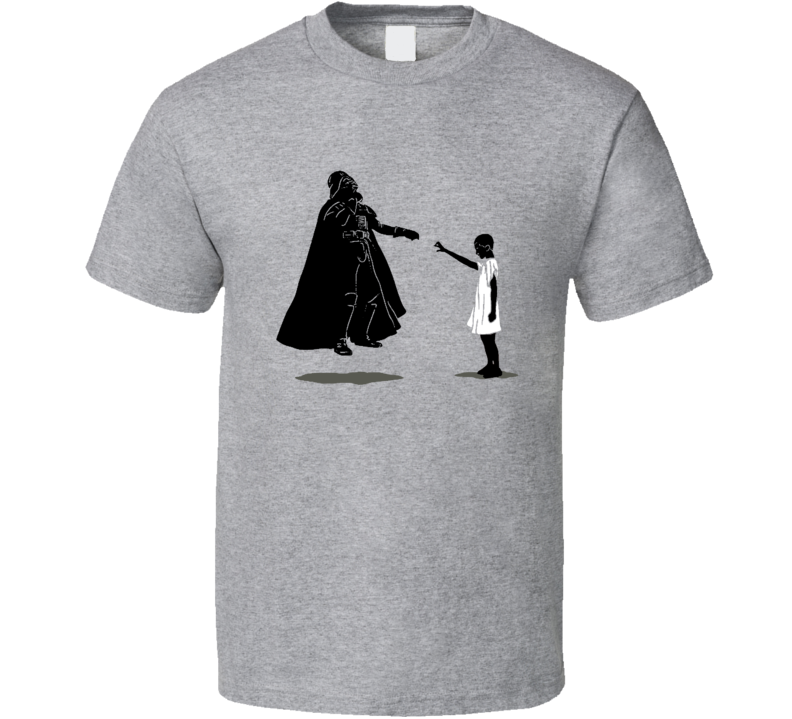 Stranger Things Eleven Darth Vader Funny Parody T Shirt