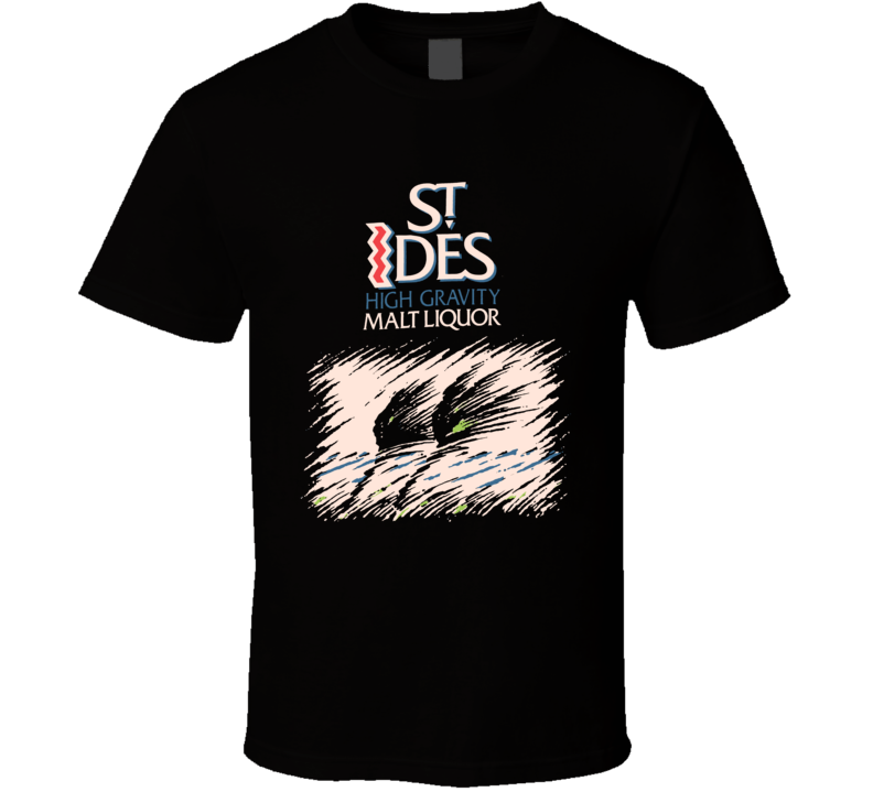 St Ides High Gravity Malt Liquor Snoop Dogg Alcohol Logo Rap Hip Hop Music Fan T Shirt