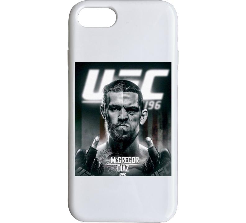 Ufc 196 Mcgregor Verus Diaz Fight Card Mma Fighter Sport Phone Case