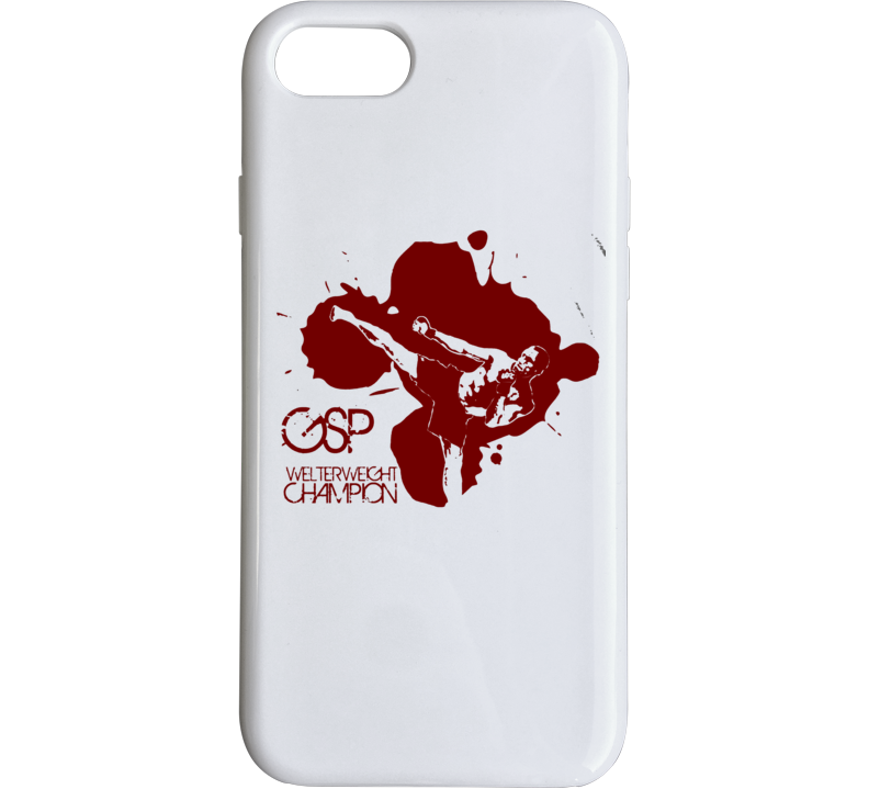 Gsp George St Pierre Ufc Mma Fighter Fighting Sports Fan Phone Case
