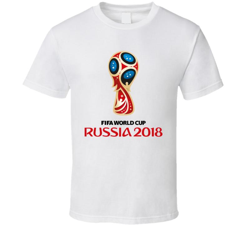 World Cup Soccer 2018 Russia Cool Football Sports Fan T Shirt