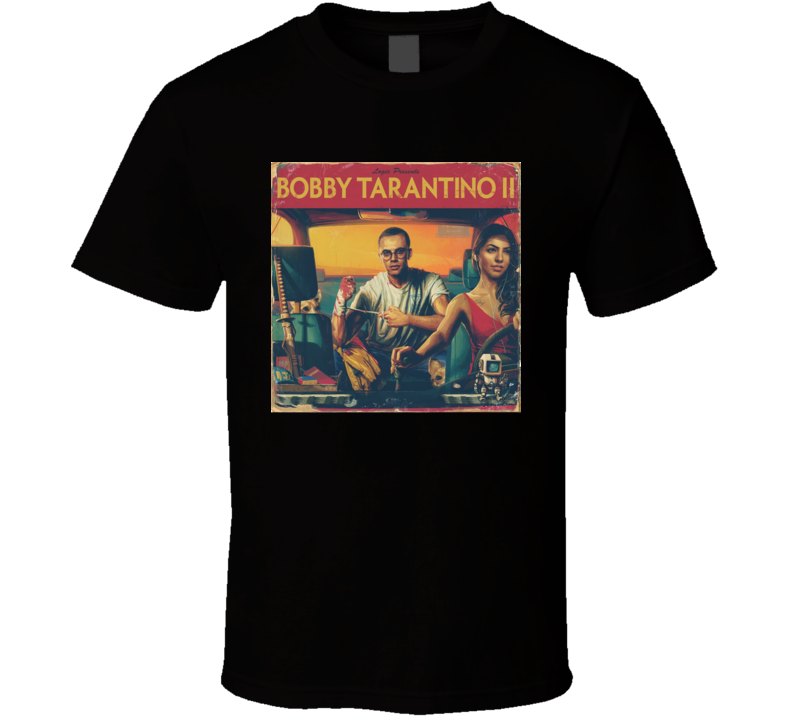 Logic Bobby Tarantino 2 Cool Album Rap Hip Hop Music Fan T Shirt