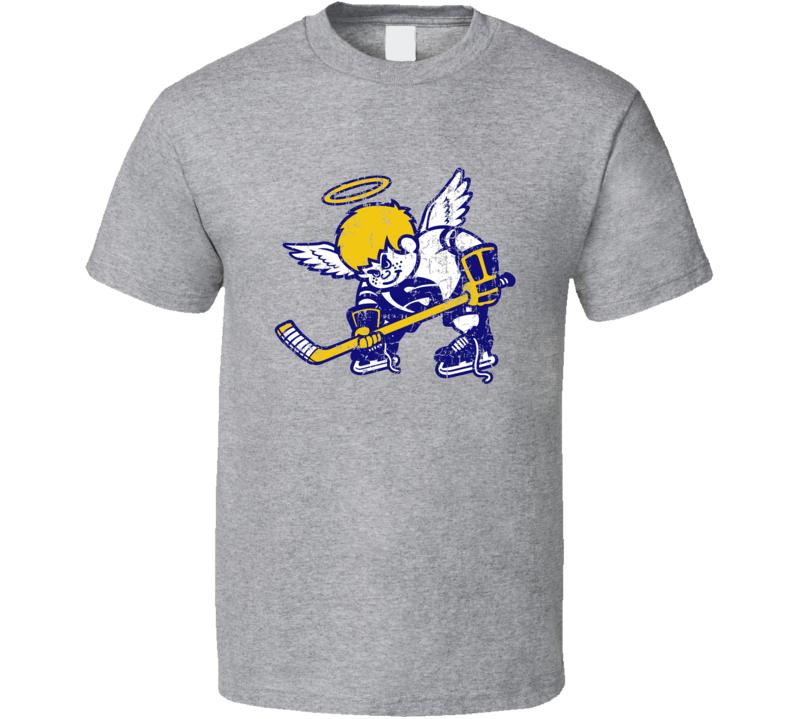 Minnesota Fighting Saints Cool Retro Hockey Team Fan T Shirt
