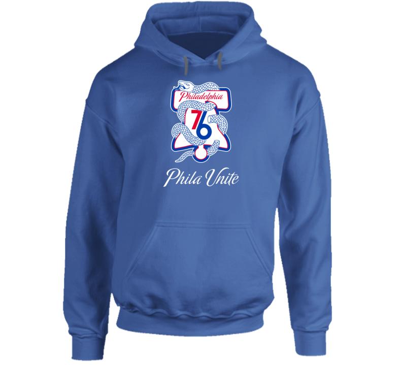 Phila Unite Philadelphia Basketball Sports Team Fan Hoodie