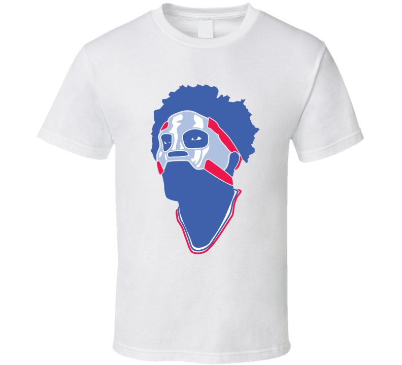 Joel Embiid The Mask Philadelphia Philly Basketball Sports Team Fan T Shirt