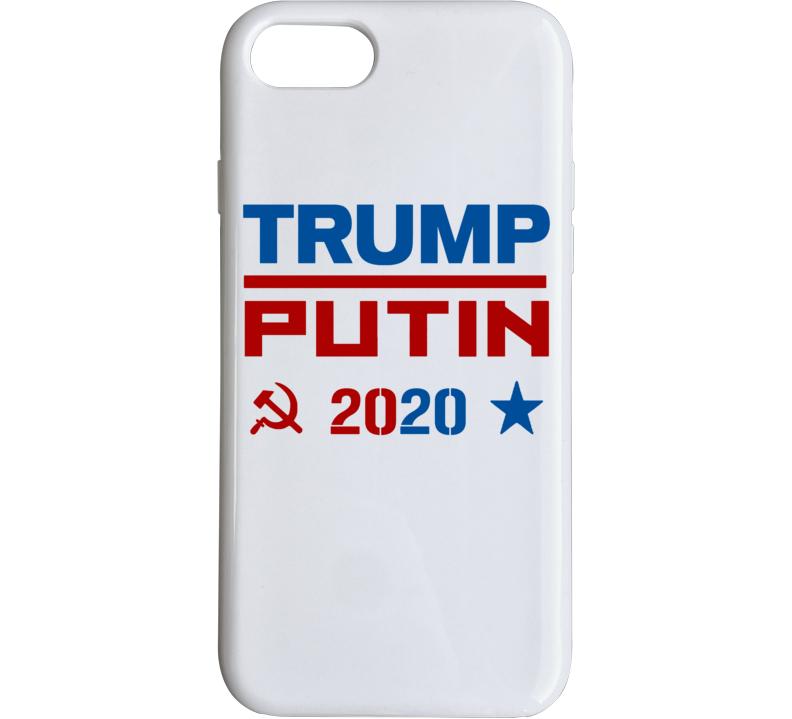 Trump Putin 2020 Political Politics Humor Phone Case